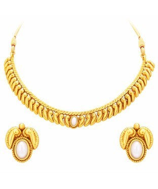 Sukkhi Marvellous Gold Plated Necklace Set For Women
