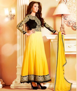 Faux Georgette Suit, Dupatta and Lining