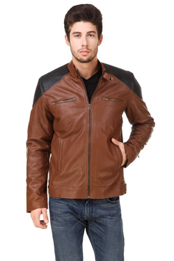 Smerize Men's Wolverine Faux Leather Jacket $ 2SME