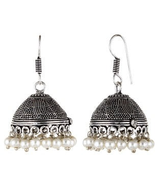 Aradhya Beads Metal Jhumki Earring