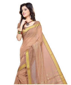 Triveni Saree with Unstitched Blouse