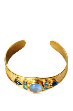 Bauble Burst Blue Blossom Bracelet