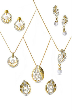Pearl Drop Trio Set - JDGMTRS1431