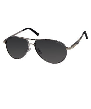 David Blake Grey Aviator Mirrored Sunglass