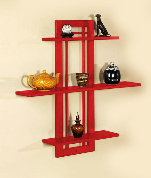 THE NEW LOOK Wall Shelves Cum Rack 3-Tier-100000641801