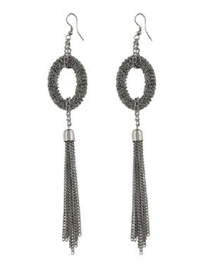 Aradhya Metal Dangle Earring