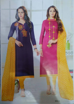 AV COLLECTIONS DESIGNER COTTON SUITS COMBO