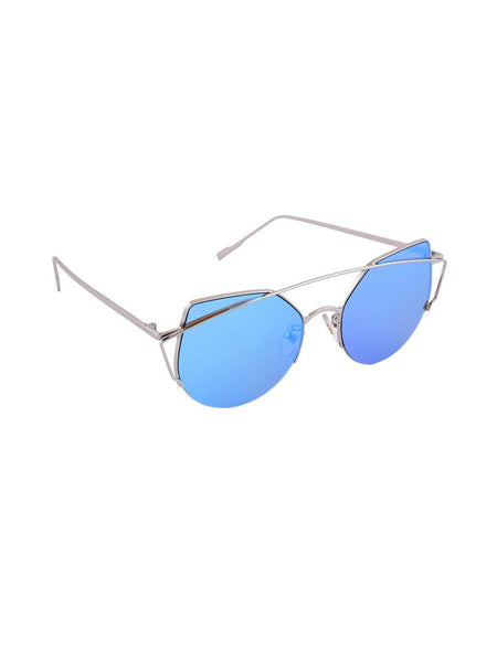 6by6 Blue Round Women Sunglasses $ 6B6SG1960