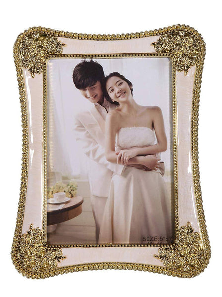 Gold Plated Photo Frame Special Gifts for Valentine Gift, Mother/Father Day,Wedding Gift, Anniversary Gift, Birthday Gift $ GOS-104