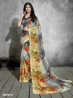 Umang NX Multi Digital Designer Digital Printed Sarees $ UN7414
