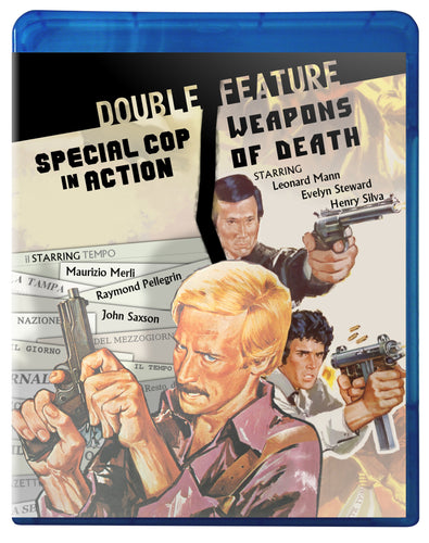 Explosive Eurocrime Double Feature Bluray
