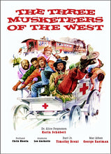 "DVD  ""THE THREE MUSKETEERS OF THE WEST"""