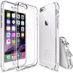 iPhone 6 & 6S Cases Hybrid Clear Acrylic + Silicone