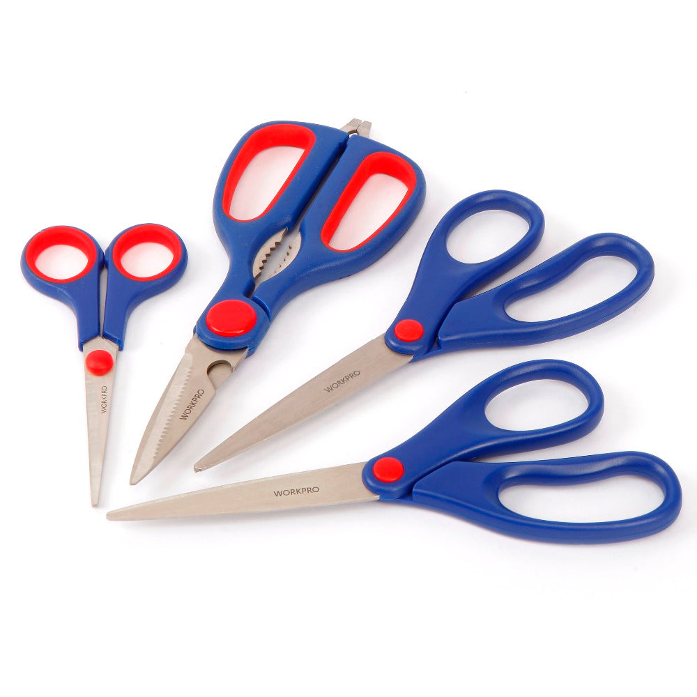 4 Multipurpose Scissor Set