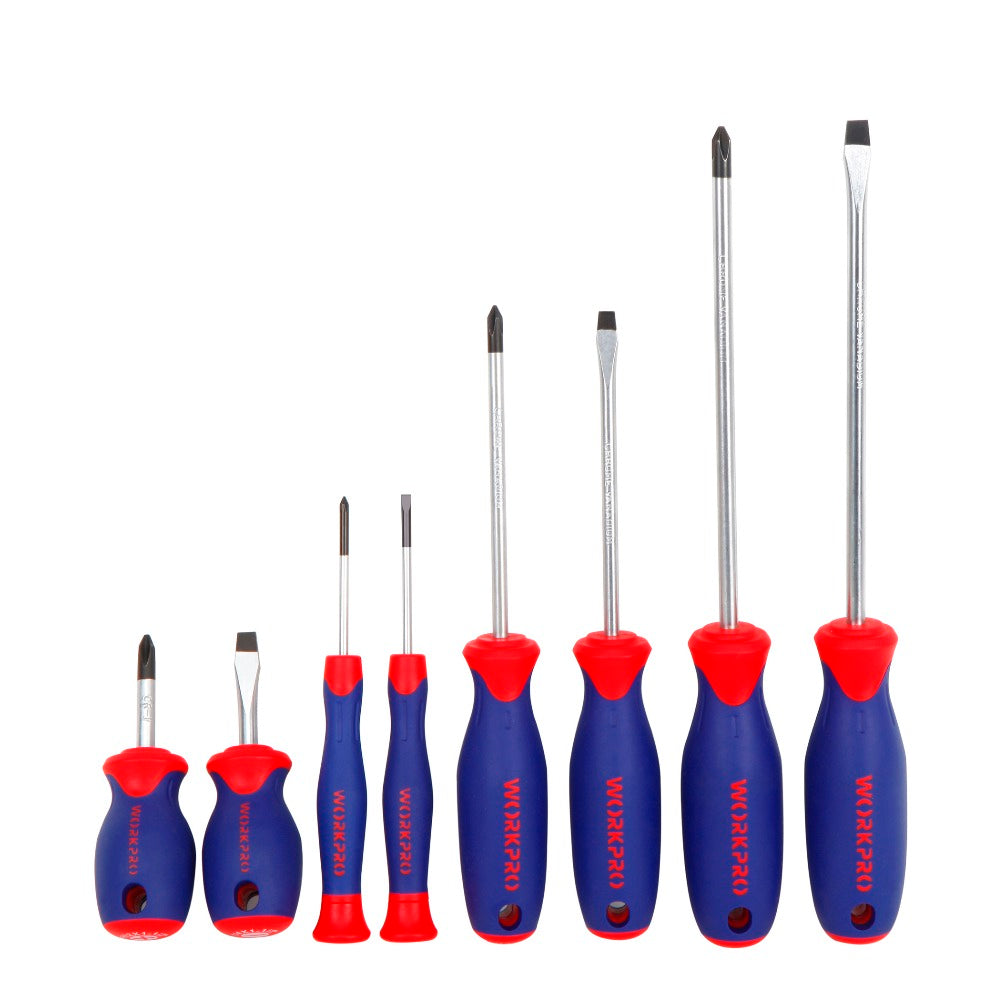 8 in 1 Slotted Phillips Screwdrivers