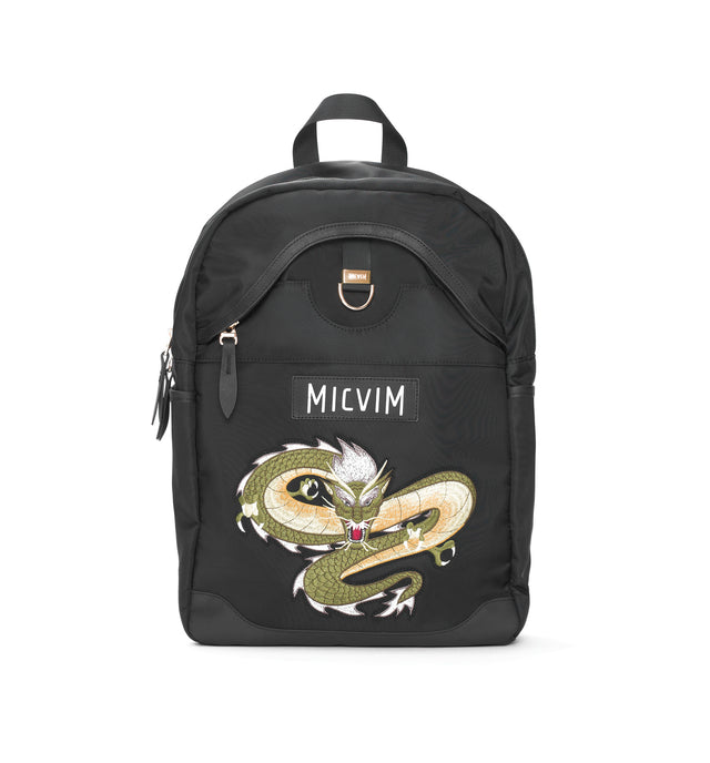 Basic Backpack with Embroidery (Golden Version)