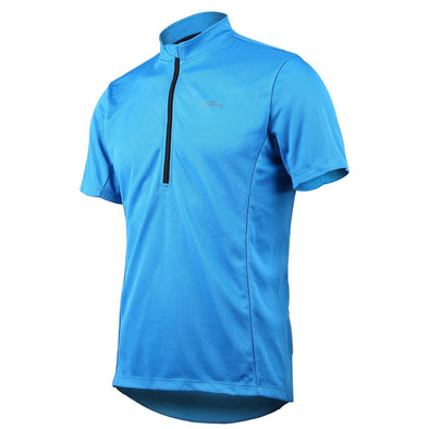 Classic - Short Sleeve Quick Dry Bike Jersey, Blue