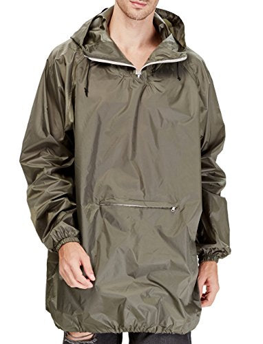 volume large professional huge selection of Peak - Easy Carry Raincoat/Poncho In a Pouch, Army Green