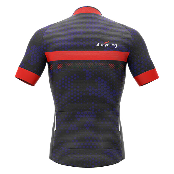 Men's Short Sleeve Cycling Jersey, Black