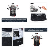 4ucycling Professional Men's Short Sleeve Comfortable Cycling Jersey or Compression Shorts Team Edition