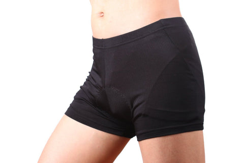 4ucycling 3D Padded bike Underwear Shorts - Breathable,Lightweight,Men & Women