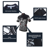 Copy of 4ucycling Professional Men's Short Sleeve Comfortable Cycling Jersey or Compression Shorts Team Edition