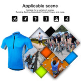 4ucycling Short Sleeve Quick Dry Bike Jersey - US Size Breathable Basic Shirts for Sports