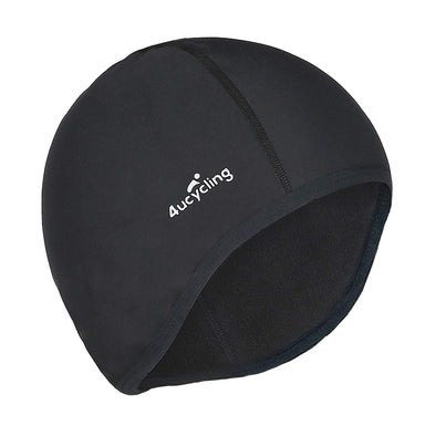 Snap - Cycling Skull Cap & Helmet Liner for Men & Women, Black