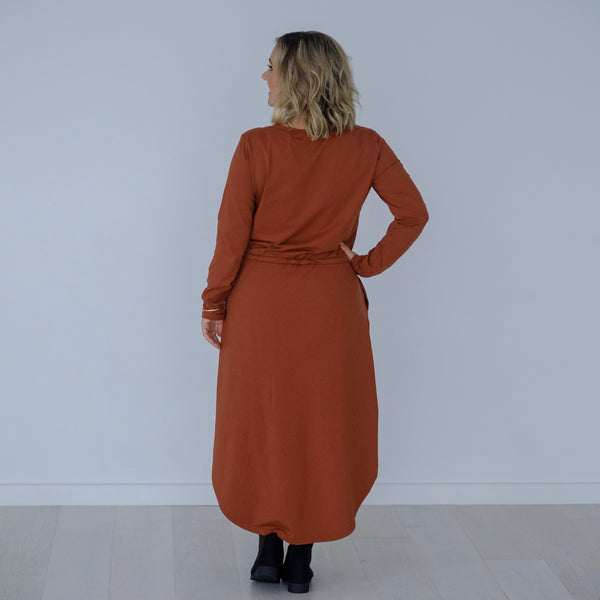 Castaway Dress | Burnt Cinnamon