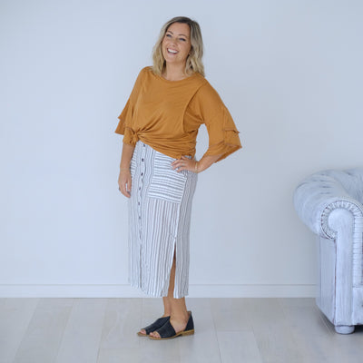 Dixie Top | Caramel
