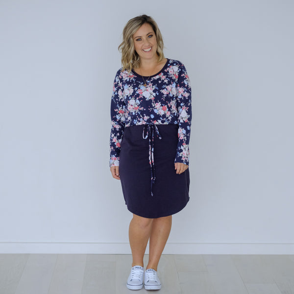 Wildflower Dress | Navy