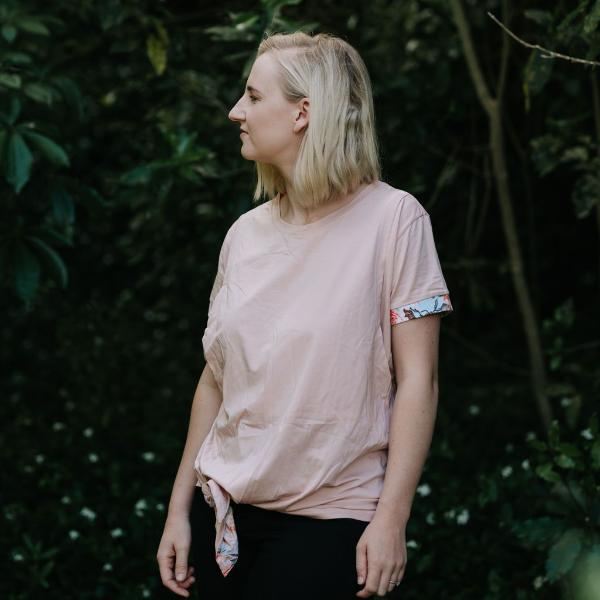 FINAL SALE | Indie Tee | Blush