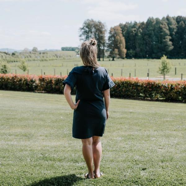 FINAL SALE - Stella Dress | Navy