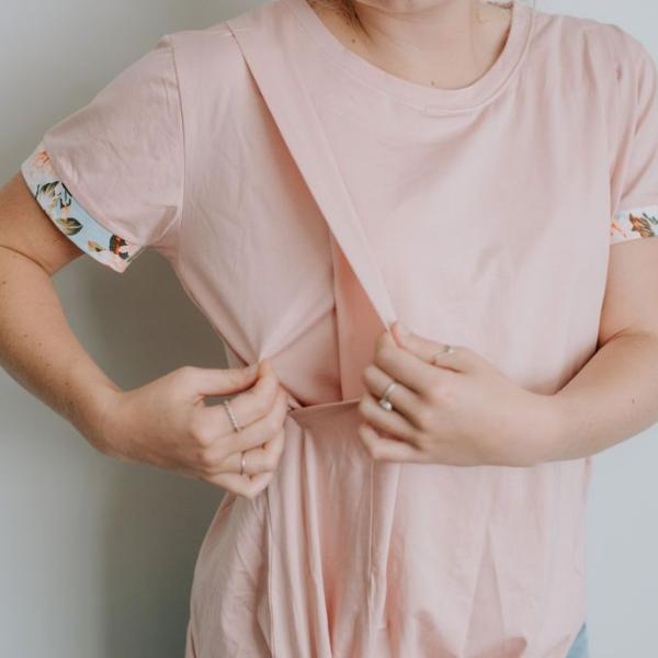 FINAL SALE - Indie Tee | Blush
