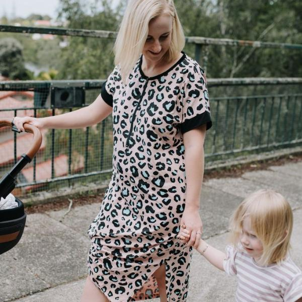 FINAL SALE - Savanna Dress | Leopard
