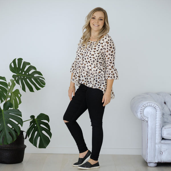 Ginny Top | Leopard