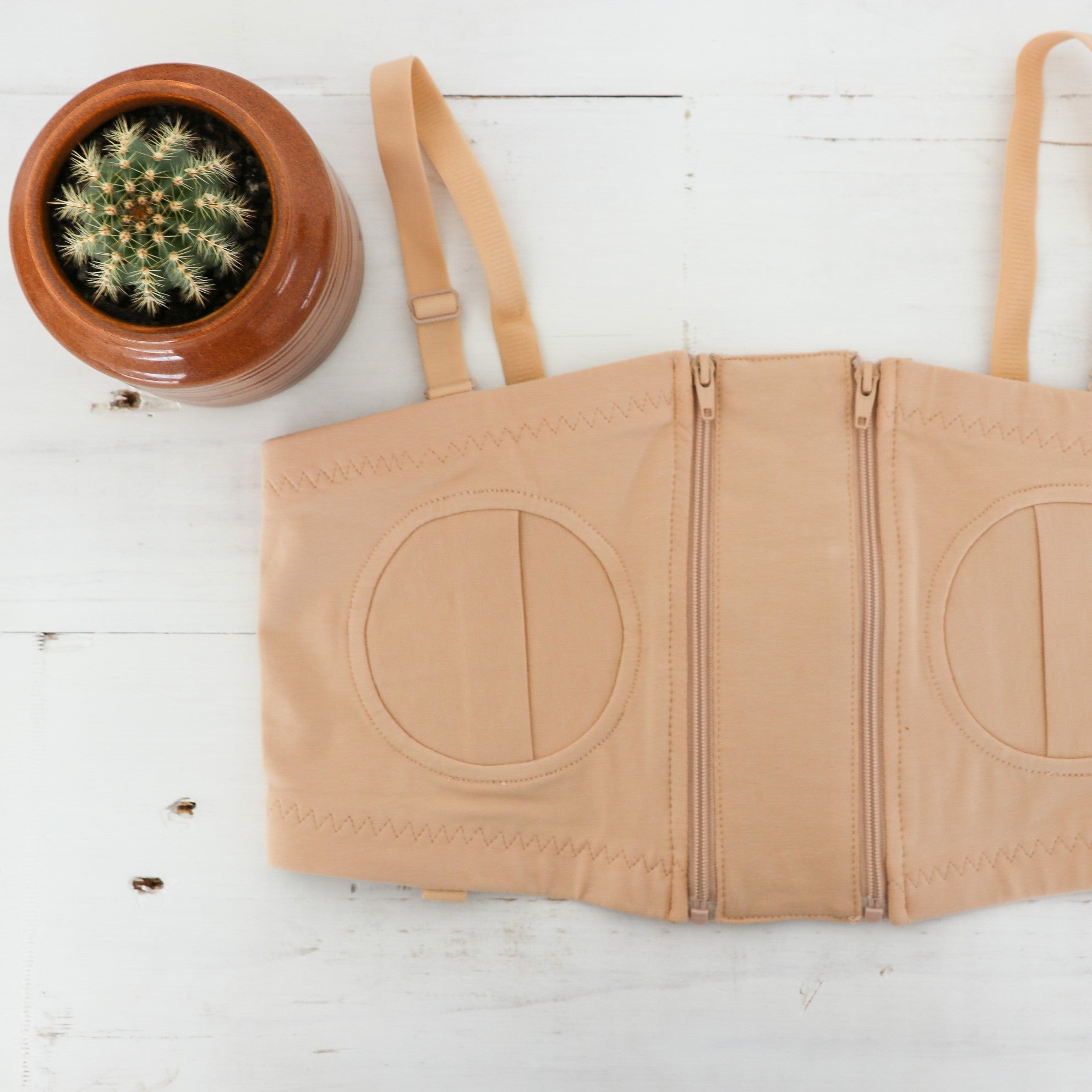 Breast Pump Bra | Nude