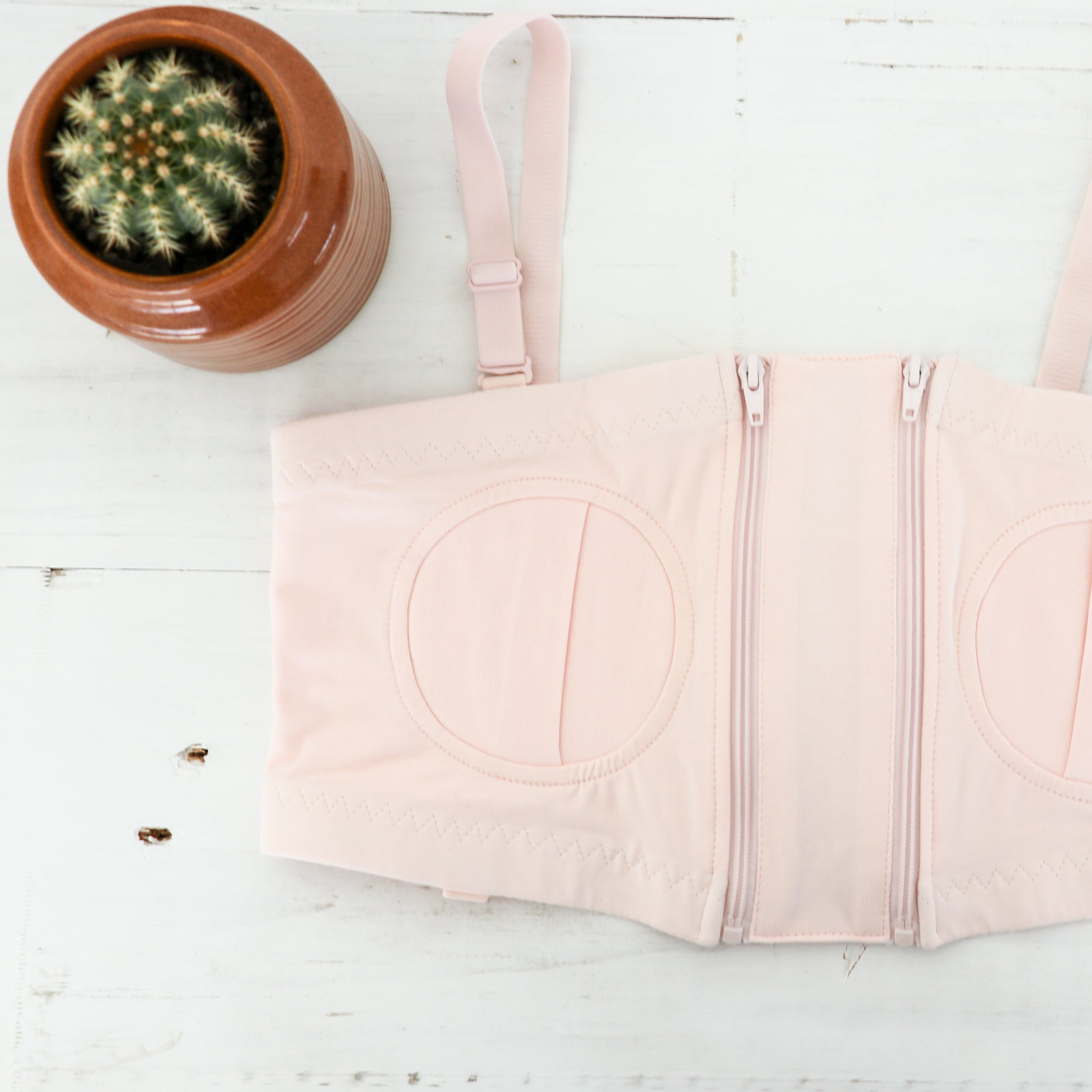 Breast Pump Bra | Pink