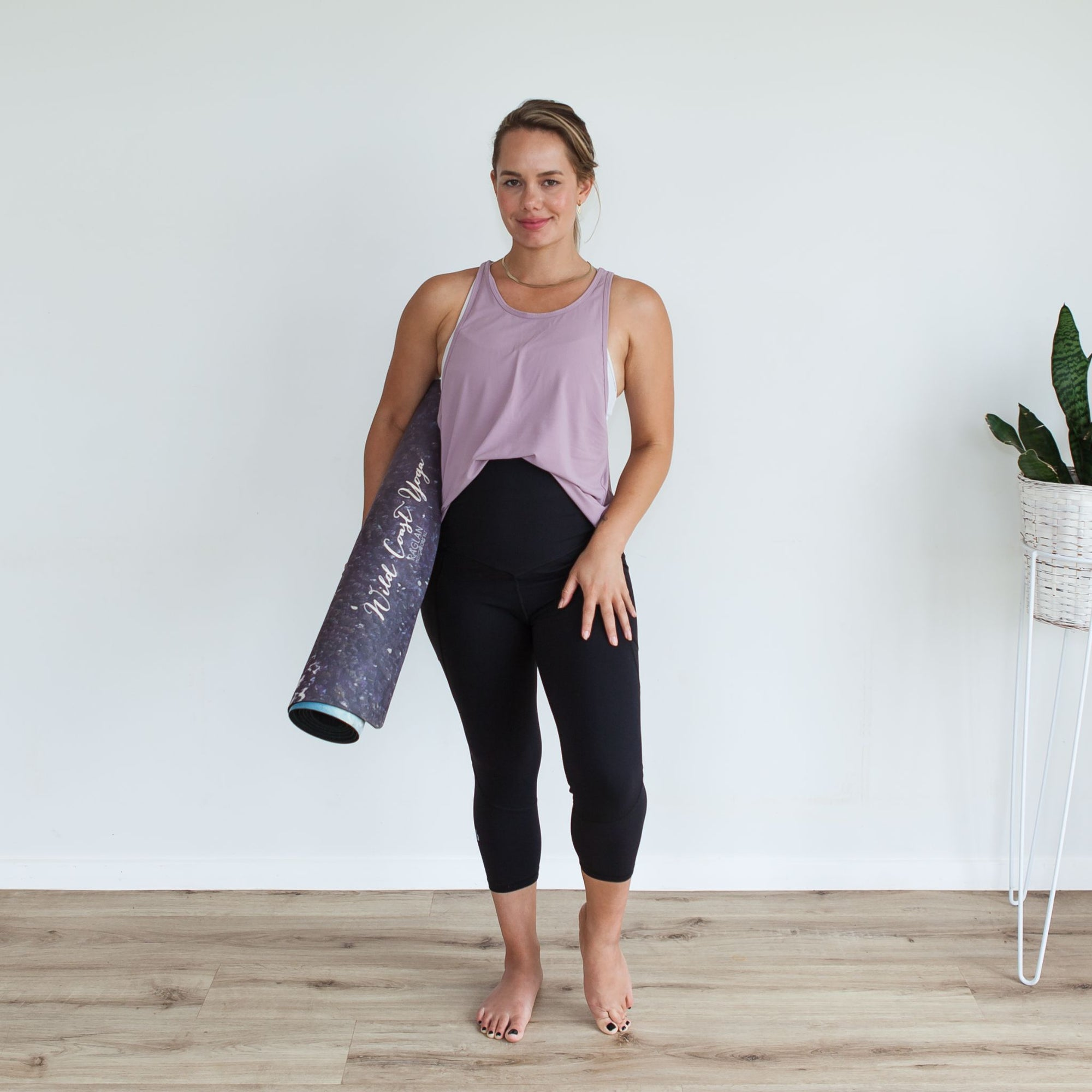 Milkbar Active Leggings - Extra High Waist 3/4 | Black
