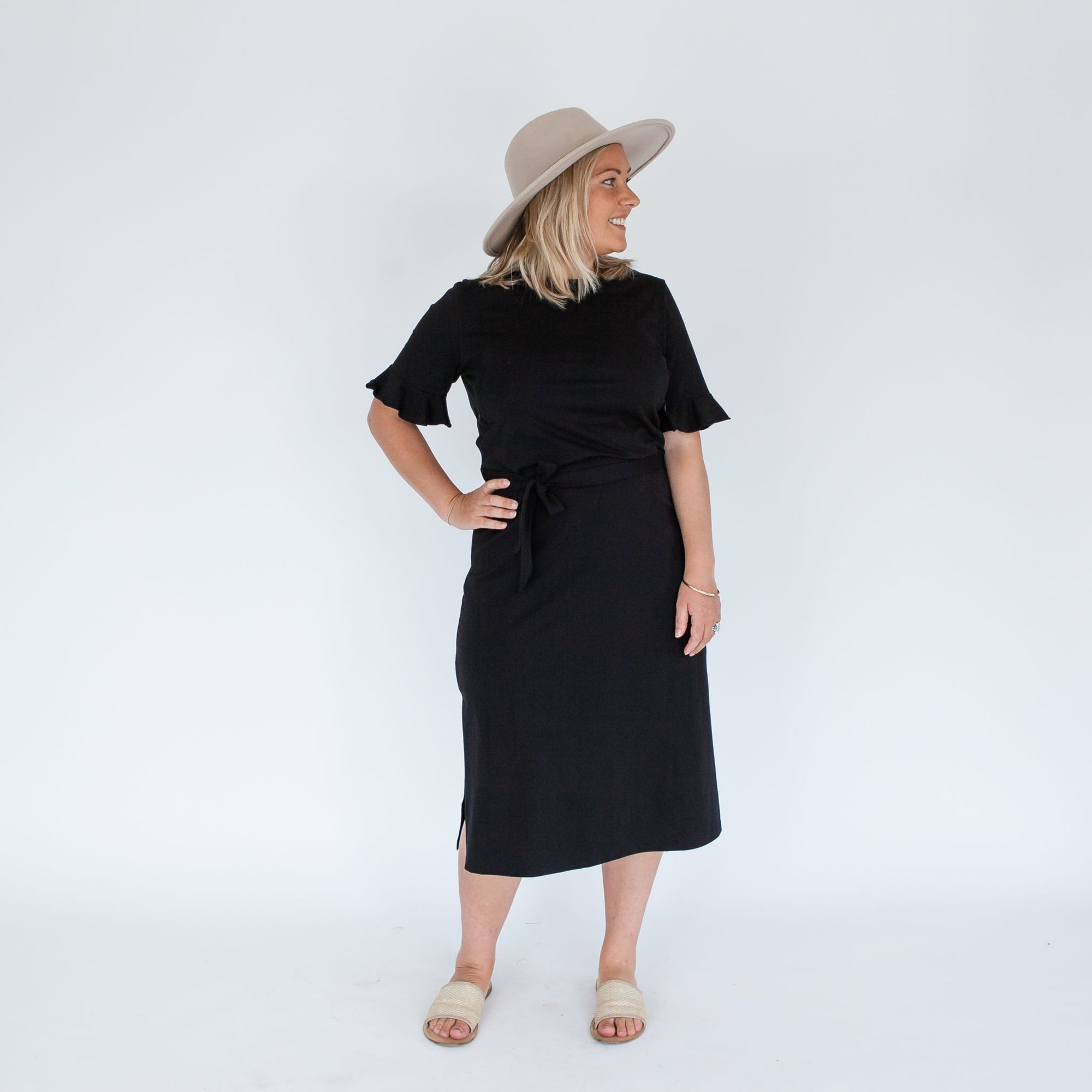 Zaria Dress | Black