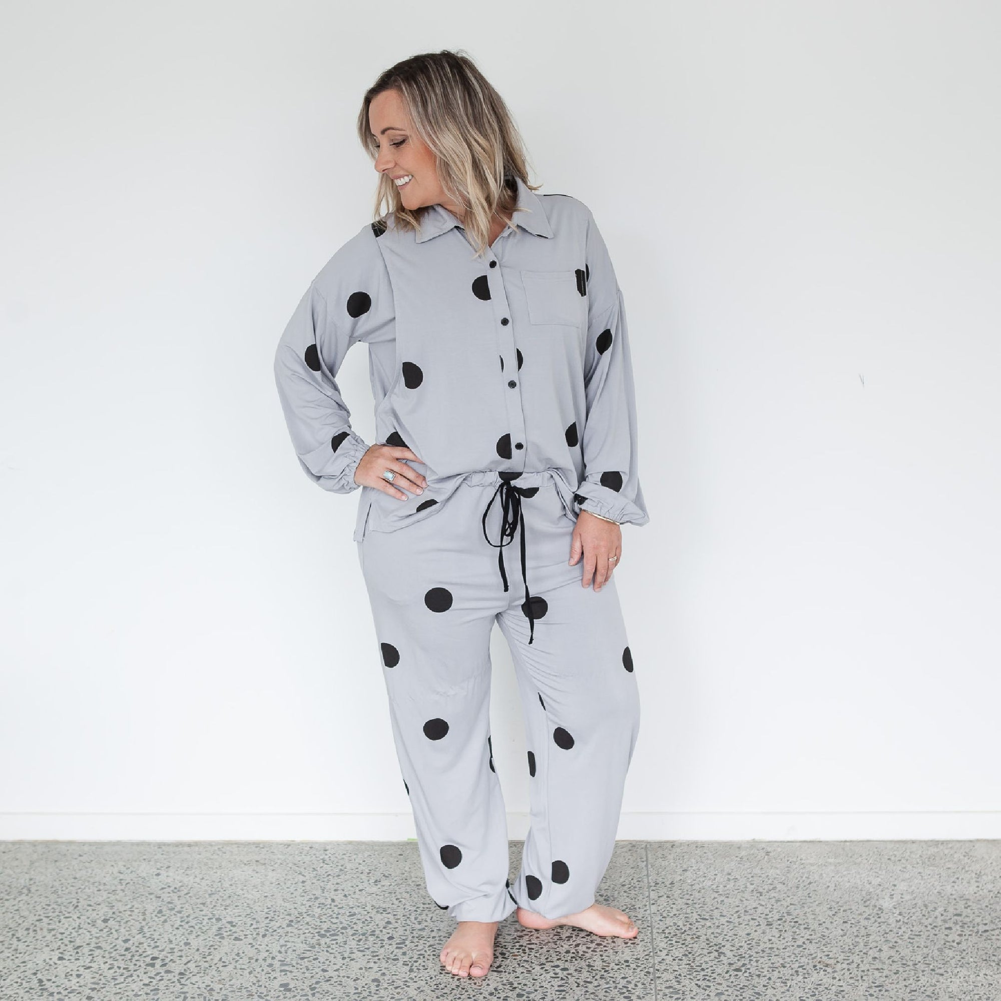Breastfeeding Pyjamas | Casper Polka Dot