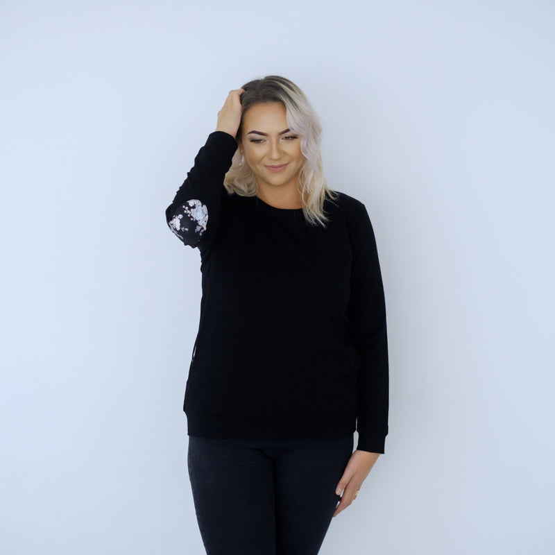 Chateau Sweater | Black