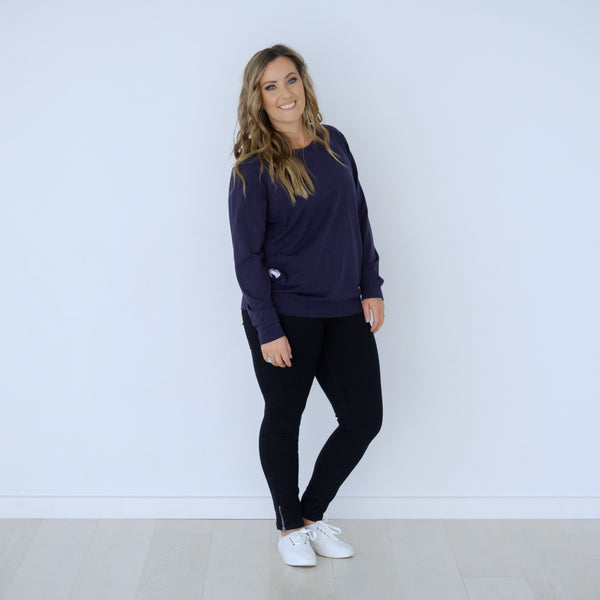 PRE-ORDER Chateau Sweater | Navy