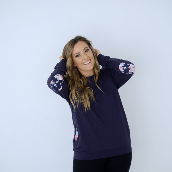 Chateau Sweater | Navy