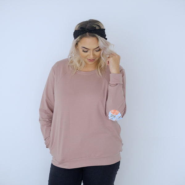 PRE-ORDER Chateau Sweater | Rose