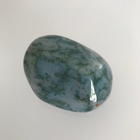 Tumbled Freeform Moss Agate