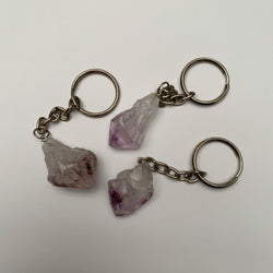 Amethyst Key Ring