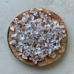 Clear Quartz Points- Rough