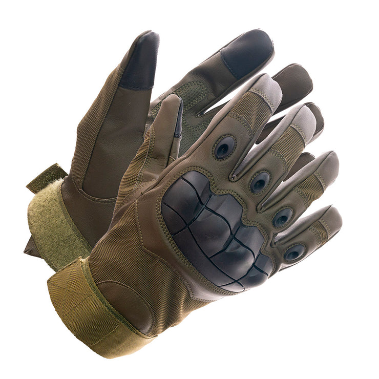 Delta Force Touch Screen Hard Knuckle Military Tactical Combat Glove