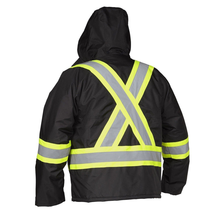 Hi Vis Safety Driver's Jacket - Hi Vis Safety